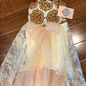 Dresses - Mia Belle Baby size 2t/3t NWT dress